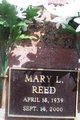 Mary L. <I>McMahon</I> Reed