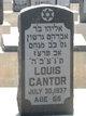 Profile photo:  Louis Cantor