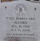 Warren Eric Alford