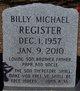 "Billy Michael ""Mongo"" Register"