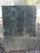 Profile photo:  Willis E. Creal