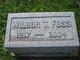 Wilbur T Foss