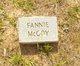 Profile photo:  Fannie McCoy