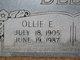 Ollie Eugene Deese
