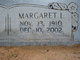 Margaret Louise <I>Beebe</I> Deese