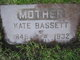 """Kathryn """"Kate"""" <I>Trutt</I> Bassett"""