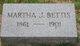 Martha Jane <I>Kendall</I> Bettis