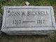 John W. Bicknell
