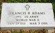 Francis Bernard Adams
