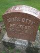 Christiana Charlotte <I>Saupe</I> Pfeiffer