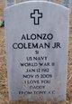 Alonzo Coleman, Jr