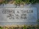 George A Taylor