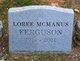 Loree <I>McManus</I> Ferguson