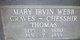 """Mary Irvin """"Big Mama"""" <I>Webb</I> Thomas"""