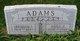 Anna Elizabeth <I>Miles</I> Adams