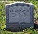 Profile photo:  William Edward Cannon, Sr