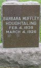 Barbara A <I>Muffley</I> Houghtaling