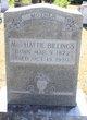 Hattie Adline <I>Alston</I> Billings