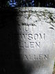 "Martha Ann ""Mott"" <I>Newsom</I> Allen"