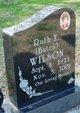 Profile photo:  Ruth Elizabeth <I>Bates</I> Wilson