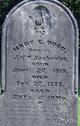 Mary Eliza <I>Sackrider</I> Dodd
