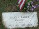 Billy L. Baker