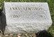 Profile photo:  Anna <I>Sorenson</I> Armstrong