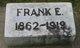 Frank Edward Wade