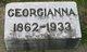Georgianna <I>St. John</I> Wade
