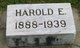 Harold Eugene Wade