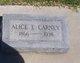 Profile photo:  Alice E. Carney