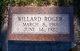 Willard Roger Waltemath