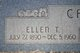 Ellen Lou <I>Taylor</I> Callendar