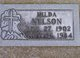 Profile photo:  Hilda Nelson