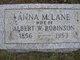Anna Maria <I>Lane</I> Robinson