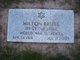 "Profile photo:  Milton ""Breeze"" Brizel"