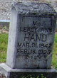 Leacy Ann <I>Smith</I> Hand