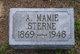Profile photo:  A. Mamie Sterne