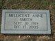 Millicent Anne Smith