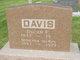 Oscar F Davis