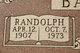 Randolph Henry Baccus