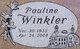 Pauline Winkler