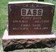 Emma May <I>Hulsey</I> Bass
