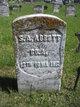 Pvt Sewell Augustus Abbott
