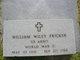 "William Wiley ""Buddy"" Fricker"