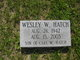 Wesley W Hatch