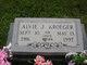 Alvie J <I>Johnson</I> Kroeger