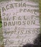 Profile photo:  Agatha Pearl Davidson