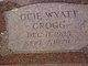 Ocie Wyatt Grogg