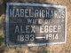 Mabel <I>Richards</I> Egger